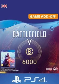 Battlefield V 5 - Battlefield Currency 6000 PS4 (UK)