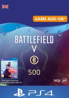 Battlefield V 5 - Battlefield Currency 500 PS4 (UK)