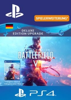 Battlefield  5 Deluxe Upgrade  PS4  (Germany)