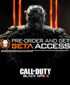 Call of Duty (COD): Black Ops III 3 + Beta Access (PC)