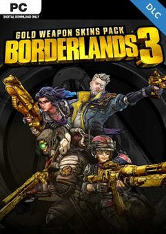 Borderlands 3: Gold Weapon Skins Pack PC -  DLC