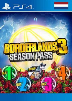 Borderlands 3 Season Pass PS4 (Netherlands)