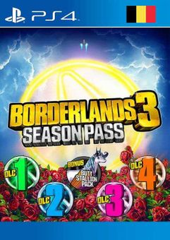 Borderlands 3 Season Pass PS4 (Belgium)