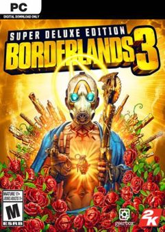Borderlands 3 Super Deluxe Edition PC + DLC (US/AUS/JP)