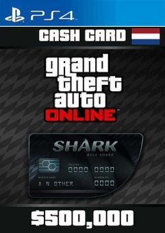 Grand Theft Auto Online Bull Shark Cash Card PS4 (Netherlands)