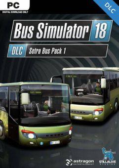 Bus Simulator 18 - Setra Bus Pack 1 PC - DLC
