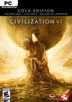 Sid Meier's Civilization VI 6 Gold Edition PC (EU)