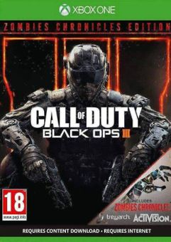 Call of Duty Black Ops III 3 - Zombies Chronicles Edition Xbox One (US)