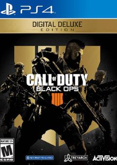 Call of Duty Black Ops 4 - Deluxe Edition PS4 (EU)
