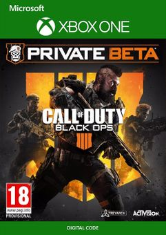 Call of Duty (COD) Black Ops 4 Xbox One Beta