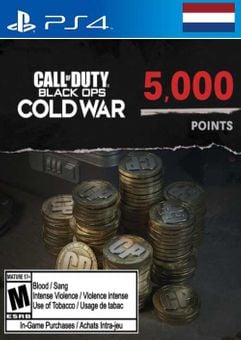 Call of Duty: Black Ops Cold War - 5000 Points PS4/PS5 (Netherlands)