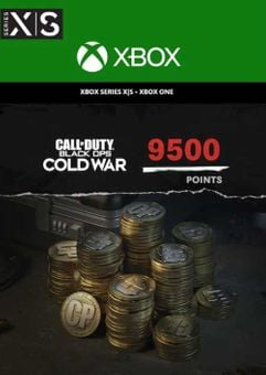 Call of Duty: Black Ops Cold War - 9,500 Points Xbox One/ Xbox Series X|S