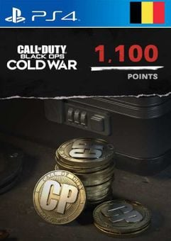 Call of Duty: Black Ops Cold War - 1100 Points PS4/PS5 (Belgium)