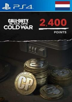 Call of Duty: Black Ops Cold War - 2400 Points PS4/PS5 (Netherlands)