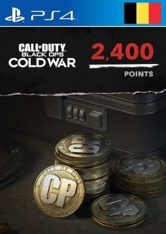 Call of Duty: Black Ops Cold War - 2400 Points PS4/PS5 (Belgium)