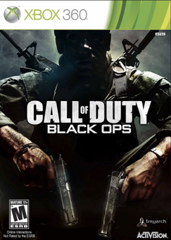Call of Duty (COD) Black Ops Xbox 360