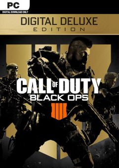Call of Duty (COD) Black Ops 4 Digital Deluxe PC (APAC)