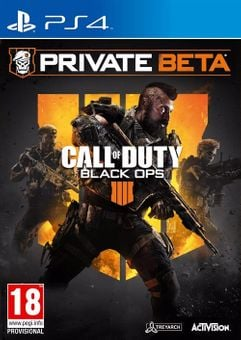 Call of Duty (COD) Black Ops 4 PS4 Beta