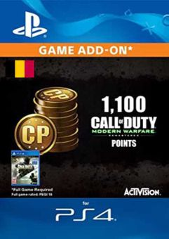 Call of Duty Modern Warfare - 1100 Points PS4 (Belgium)