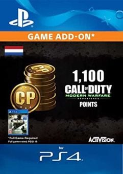 Call of Duty Modern Warfare - 1100 Points PS4 (Netherlands)