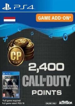 Call of Duty Modern Warfare 2400 Points PS4 (Netherlands)