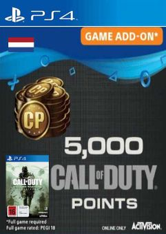 Call of Duty Modern Warfare 5000 Remastered PS4 (Netherlands)