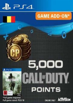 Call of Duty Modern Warfare 5000 Remastered PS4 (Belgium)