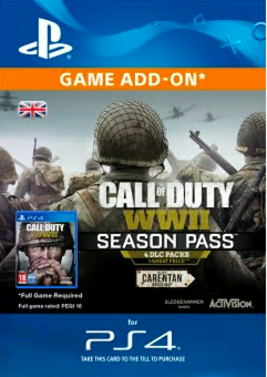 Call of Duty (COD) WWII - Season Pass PS4