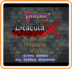 Castlevania Dracula X 3DS - Game Code (ENG)