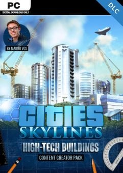 Cities Skylines - Content Creator Pack High-Tech Buildings DLC
