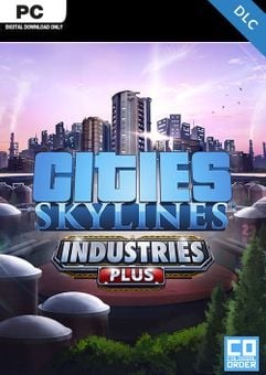 Cities Skylines PC - Industries Plus DLC