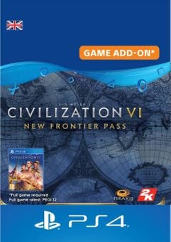 Sid Meier's Civilization VI  - New Frontier Pass PS4 UK