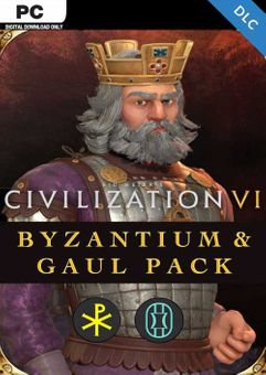Civilization VI - Byzantium & Gaul Pack PC - DLC EPIC (EU)