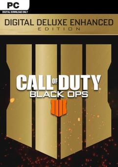 Call of Duty (COD) Black Ops 4 Deluxe Enhanced Edition PC (US)