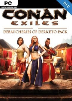 Conan Exiles - Debaucheries of Derketo Pack DLC