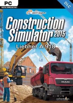 Construction Simulator 2015 Liebherr A 918 PC - DLC