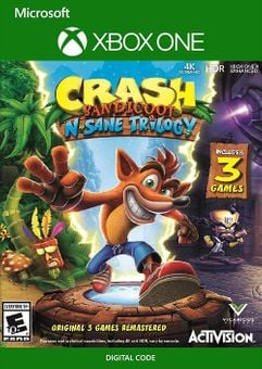 Crash Bandicoot N. Sane Trilogy Xbox One (US)