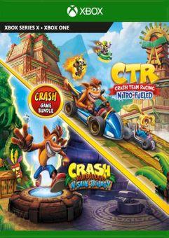 Crash Bandicoot Bundle - N. Sane Trilogy + CTR Nitro-Fueled Xbox One (UK)
