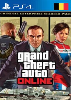 Grand Theft Auto Online - Criminal Enterprise Starter Pack PS4 (Belgium)
