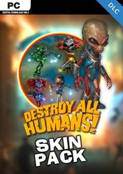 Destroy All Humans! Skin Pack PC - DLC