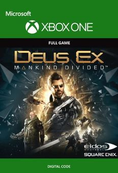 Deus Ex Mankind Divided Xbox One (UK)