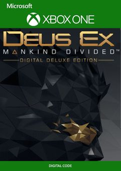 Deus Ex Mankind Divided - Deluxe Edition Xbox One (UK)