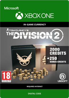 Tom Clancy's The Division 2 2250 Credits Xbox One