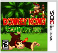 Donkey Kong Country 3DS - Game Code (ENG)