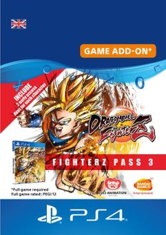 Dragon Ball Fighterz - Fighter pass 3 PS4 UK