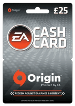 EA Origin Cash Card - 25 GBP