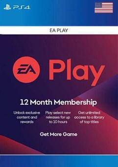 EA Play (EA Access) 12 Month PS4 (US)