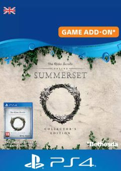 The Elder Scrolls Online: Summerset Collector's Upgrade PS4 (UK)
