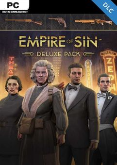Empire of Sin Deluxe Pack PC - DLC