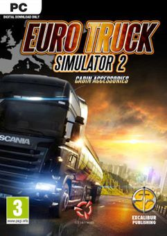 Euro Truck Simulator 2 - Cabin Accessories PC - DLC